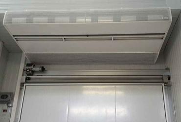 Accesorios puertas industriales: Cortinas de aire frigoríficas