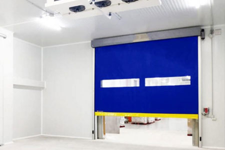roll-up door for cold storage
