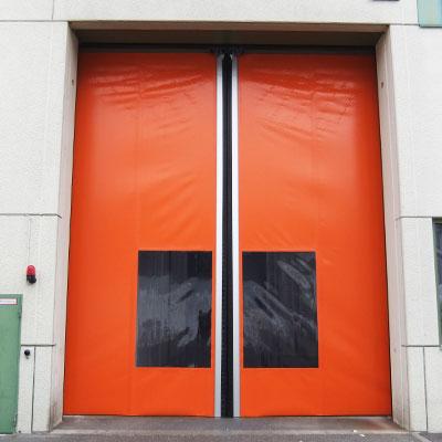 horizontal roll-up high-speed doors