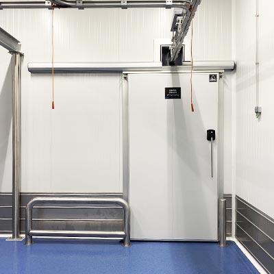 refrigerated doors