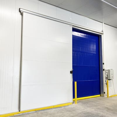 High Speed Roll-up Door for cold storage