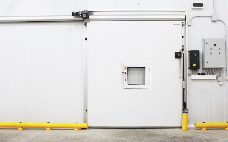 Controlled Atmosphere Sliding Door