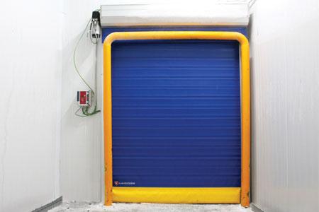 roll-up cold door