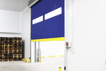 High-speed doors for cold storage