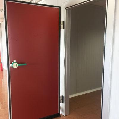 swing cold storage door