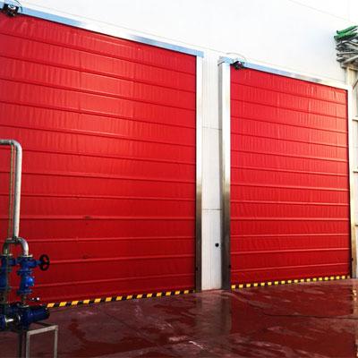high-speed stacking doors