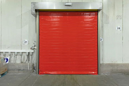 doble canvas door for cold storage