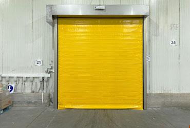 doble canvas high speed door