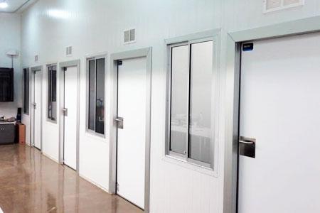 puertas peatonales pivotantes