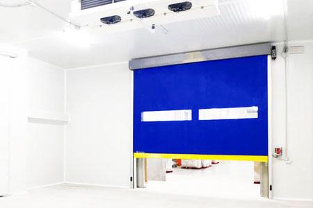 high speed door for cold storage