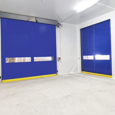 roll-up cold storage doors