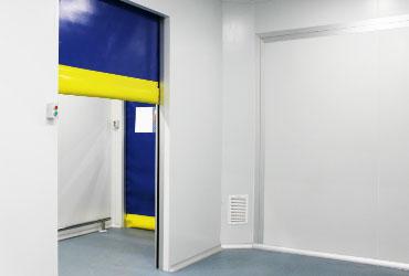 High-speed roll-up doors