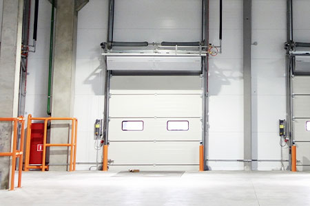 air curtain for cold storage