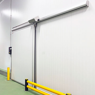 sliding doors for cold storage