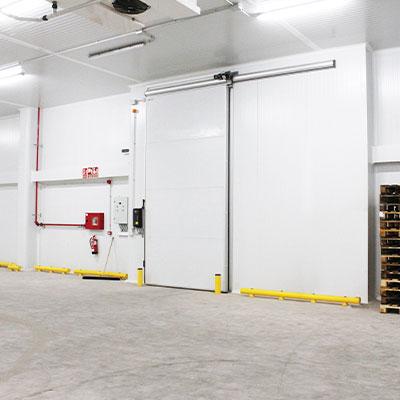 sliding cold storage doors industrials