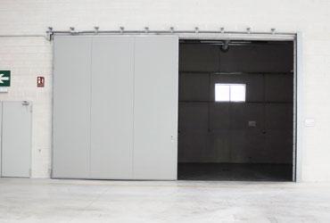 sliding fire doors industrial