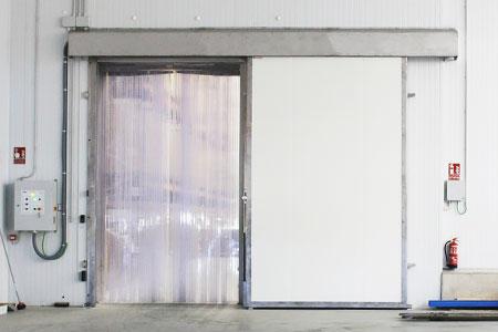 cortinas de aire para cámaras de congelación